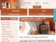 Strona (witryna) internetowa 24 mall s.r.o.