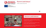 WEBOVÁ STRÁNKA Řeznictví Lukáš Gebauer s.r.o.