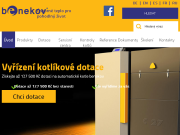 WEBOVÁ STRÁNKA BENEKOVterm s.r.o. Automatické kotle Benekov