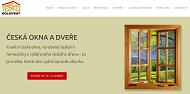 WEBOVÁ STRÁNKA TESKO KOLOVRAT s.r.o. Dřevěná okna a dveře