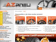SITO WEB AZ pneu PRO CZ s.r.o. pneumatiky e-shop