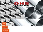 SITO WEB OHS - hydraulika s.r.o. Jaromir Jahn