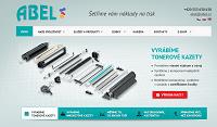 WEBOVÁ STRÁNKA ABEL-Computer s.r.o. Spolehlivé kazety do Vaší tiskárny
