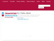 WEBOVÁ STRÁNKA Jesenická nemocnice a.s.