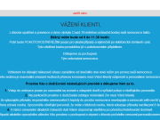 Strona (witryna) internetowa Veterinarni nemocnice MVDr. Radomira Hynara s.r.o.