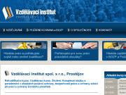 WEBOVÁ STRÁNKA Vzd�l�vac� institut, spol. s.r.o.