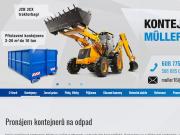WEBOVÁ STRÁNKA Kontejnery Müller s.r.o.