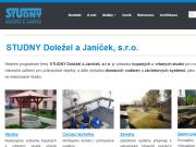 WEBOVÁ STRÁNKA STUDNY Doležel a Janíček, s.r.o.