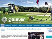 SITO WEB Uklidova firma Geisler