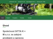 WEBOVÁ STRÁNKA SITTA K + M s.r.o.