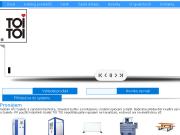 SITO WEB TOI TOI, sanitarni systemy, s.r.o. Pronajem mobilni toalety Olomouc