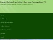 WEBOVÁ STRÁNKA Střední škola polytechnická, Olomouc, Rooseveltova 79