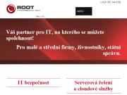 WEBOVÁ STRÁNKA ROOT IT s.r.o.
