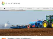 WEBOVÁ STRÁNKA Zemědělské družstvo Dub nad Moravou