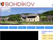 WEBOVÁ STRÁNKA Obec Bohdíkov