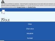 WEBOVÁ STRÁNKA Obec Zvole