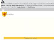 SITO WEB Obecni urad Rovensko