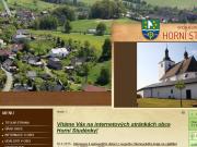 WEBOVÁ STRÁNKA Obec Horní Studénky