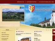 SITO WEB Obecni urad Dlouhomilov