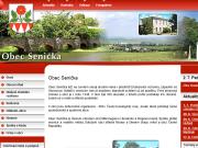 WEBOVÁ STRÁNKA Obec Senička