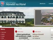 WEBOVÁ STRÁNKA Městys Náměšť na Hané