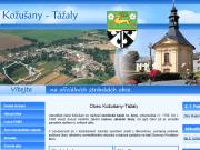 WEBOVÁ STRÁNKA Obec Kožušany - Tážaly