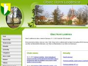 SITO WEB Obec Horni Lodenice