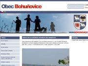 WEBOVÁ STRÁNKA Obec Bohuňovice Obecní úřad