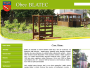 WEBOVÁ STRÁNKA Obec Blatec