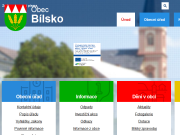 SITO WEB Obec Bilsko Obecni urad