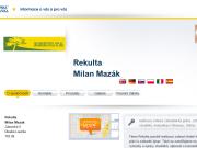 WEBOVÁ STRÁNKA Rekulta Milan Mazák