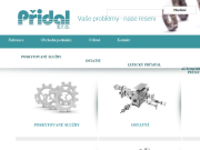 WEBSEITE Pridal s.r.o.