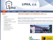 WEBOVÁ STRÁNKA LIPKA, z.s.