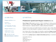 SITO WEB Wagner instalace s.r.o.