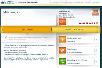 WEBOVÁ STRÁNKA Malitrans, s.r.o.