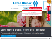 WEBOVÁ STRÁNKA Státní léčebné lázně Bludov, státní podnik