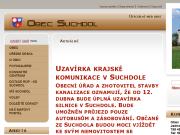 WEBOVÁ STRÁNKA Obec Suchdol