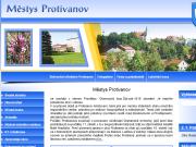 WEBOVÁ STRÁNKA Městys Protivanov