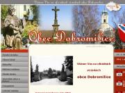 WEBOVÁ STRÁNKA Obec Dobromilice