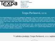 WEBOVÁ STRÁNKA TEXPA Pavlasov�, s.r.o.