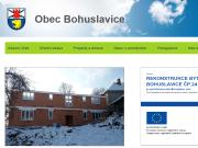 WEBOVÁ STRÁNKA Obec Bohuslavice