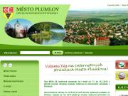 WEBOVÁ STRÁNKA Město Plumlov Městský úřad