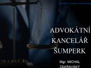 WEBOVÁ STRÁNKA Advokátní kancelář Mgr. Michal Zákravský