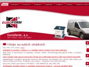 WEBOVÁ STRÁNKA EUROFORM a.s.