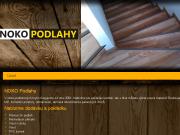 WEBOVÁ STRÁNKA NOKO Podlahy Praha 5 - Zličín