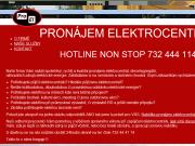 SITO WEB Pronajem elektrocentral Pavel Safarik - Brno pronajemelektrocentral.cz