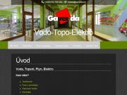 WEBOVÁ STRÁNKA GAVENDA s.r.o. Prodejna Vodo-Topo-Elektro