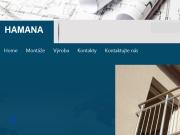 WEBOVÁ STRÁNKA Hamana - Konstrukce s.r.o.