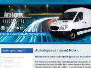 WEBOVÁ STRÁNKA Josef Rojka Autodoprava