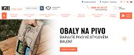 WEBOVÁ STRÁNKA Pack Shop Brno e-shop obaly a krabice